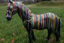 Fries paard artistiek Culturele Hoofdstad2018