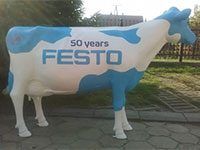 Holstein Friesian staand